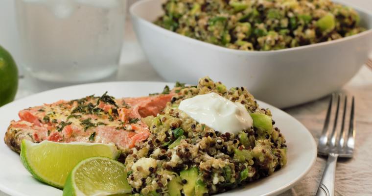 Green Goodness Quinoa Salad