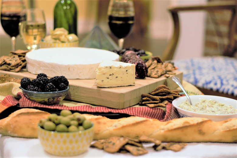 Wine, Cheese, Bread, Happiness   Mountain Cravings