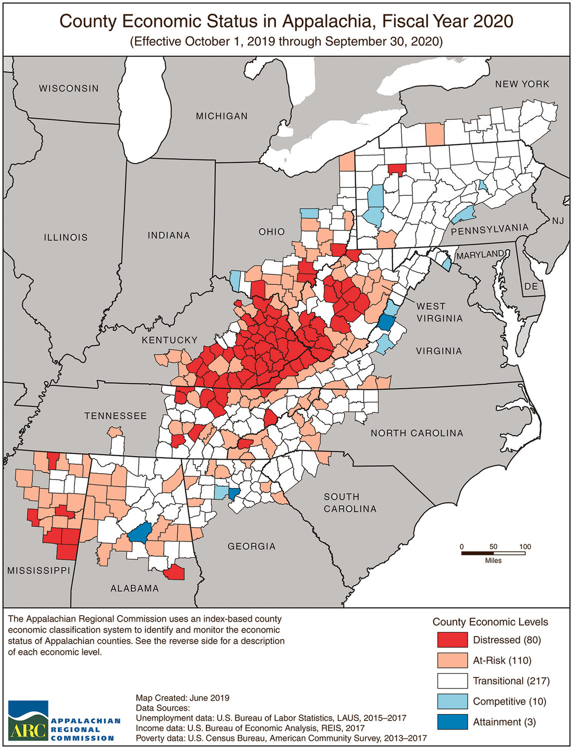 Area Counties Are At Risk Economically