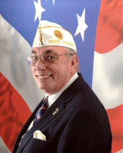 American Legion Department of West Virginia Commander Fred Buchanan