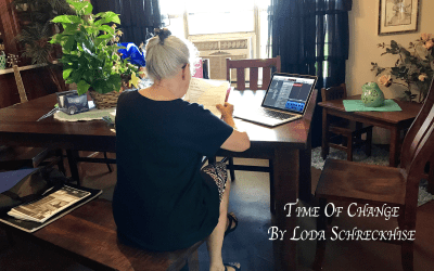 Time Of Change – By Loda Schreckhise