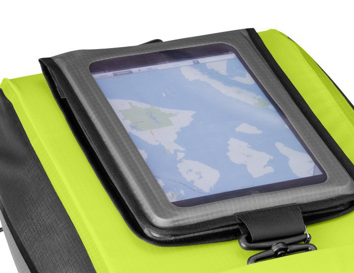 The OR Sensor Command with tablet display for waterproof map checks at a glance.