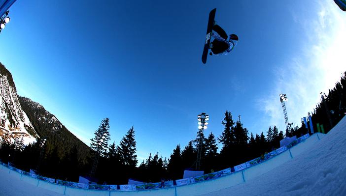 Justin Lamoureux at the 2010 Olympics. Photo courtesy xgames.espn.go.com
