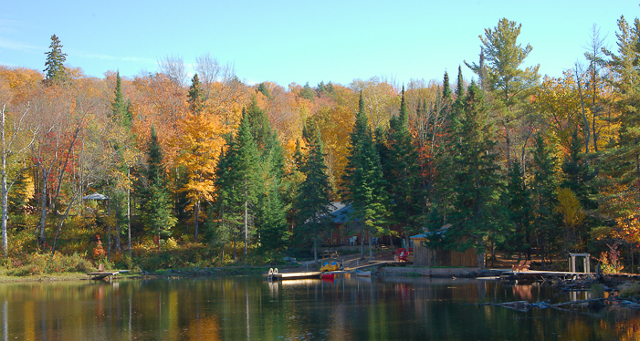 Photo courtesy Algonquin Park Eco-Lodge.