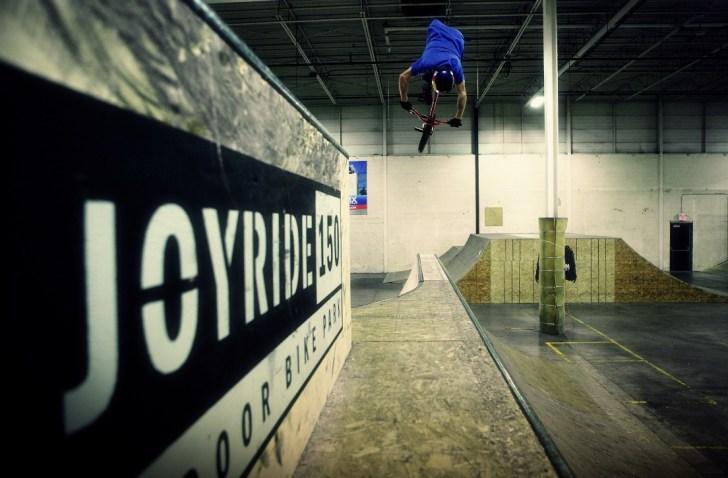 Drew Bezanson Joyriding. Photo courtesy Joyride150.com
