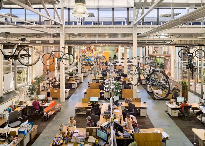 CLIF Bar HQ. Photo courtesy officesnapshots.com