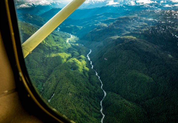 The immaculate upper Unuk River. Upon realizing the team would have to be on foot for 35 miles through some of the thickest rainforest on Earth, Rummel puked. Photo: Travis Rummel/courtesy Patagonia.com
