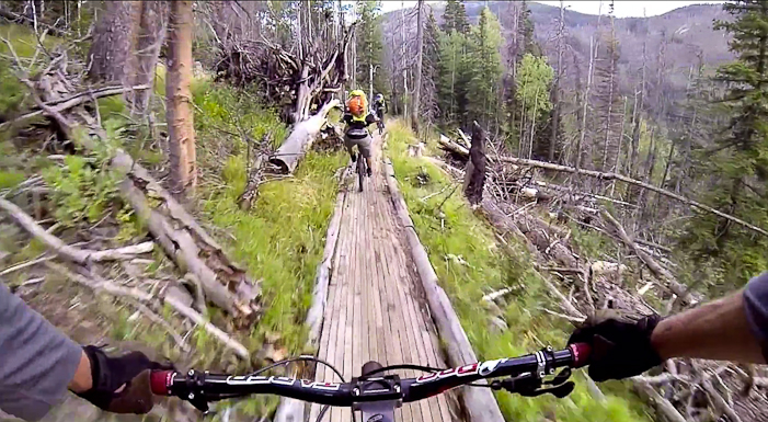 "Screen grab from ""The Forgotten Trails of the Uintas""."