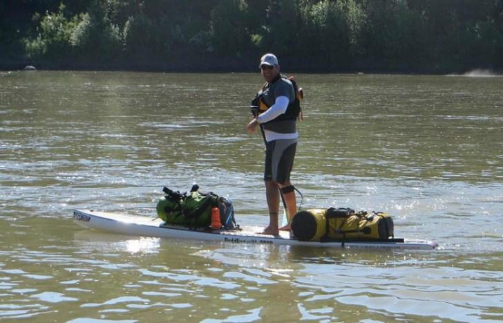Trevor Petersen. Courtesy  www.paddlingwithptsd.com