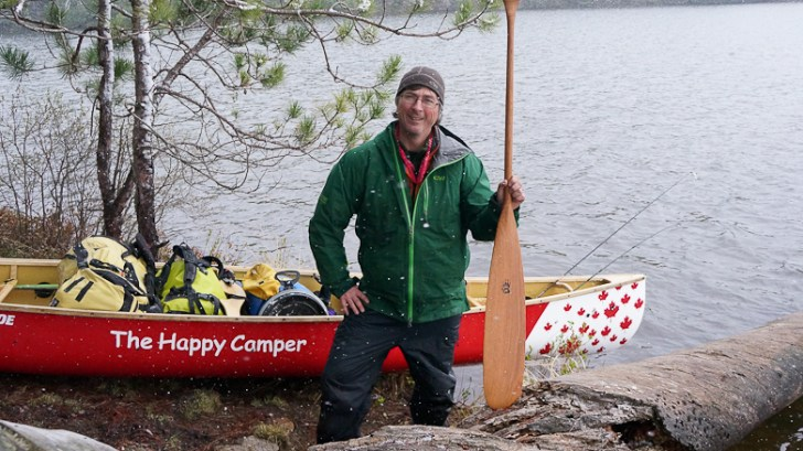 kevin pic happy camper canoe