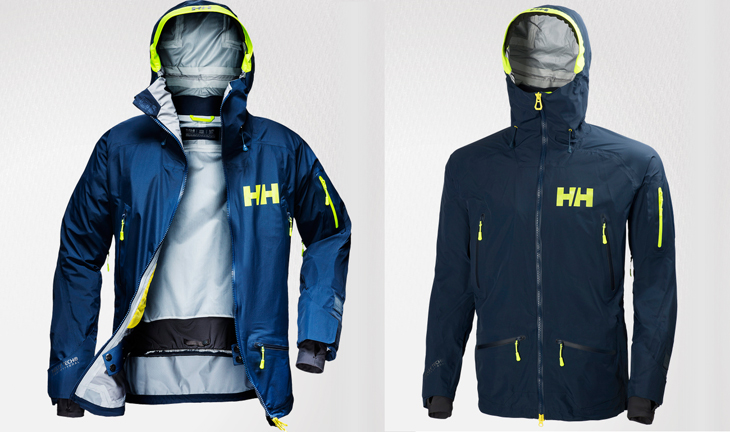d018b41bde Designed together with pro-freeskiers from around the world, the Ridge  Shell Jacket is ready for your deep snow adventures. Built on Helly Tech®  ...