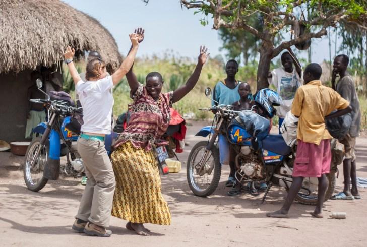 Welcome Dance_Pajama parish, Uganda