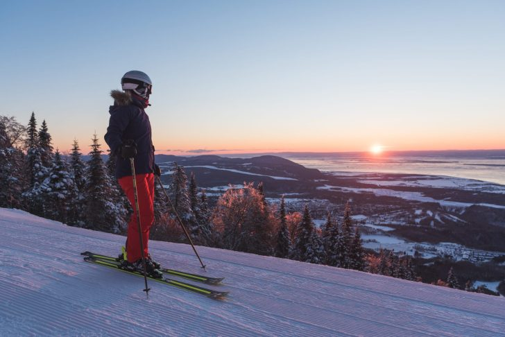 Mont Sainte-Anne near Quebec City. Photos: Gagnon, Francis