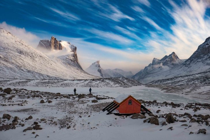 Summit lake Shelter
