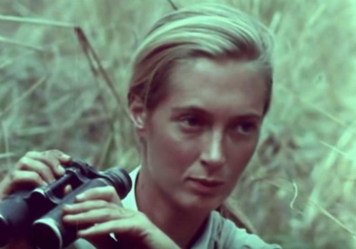Jane Goddall in Africa