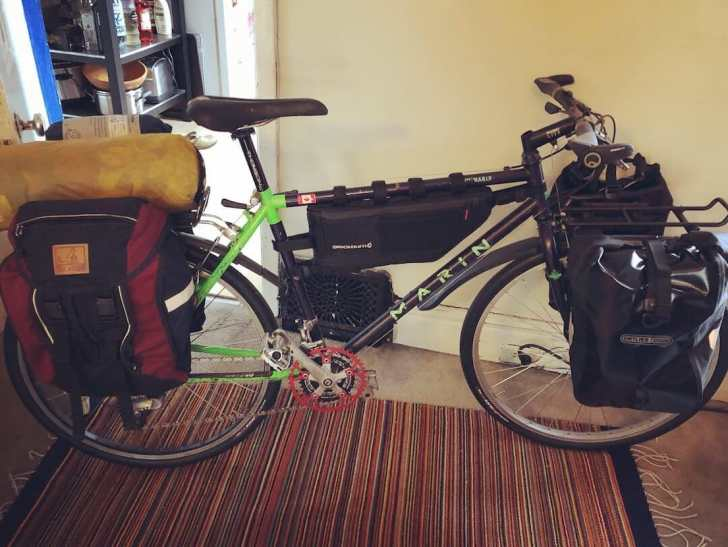 Bikepacking setup to ride across Japan