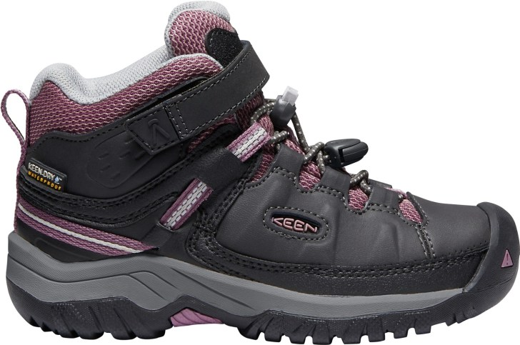 KEEN Kids Targhee Waterproof Hiking Boot reviewed by Mountain Life Media