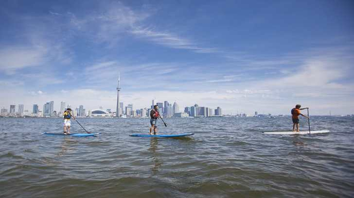 SUP Toronto by Mountain Life Media