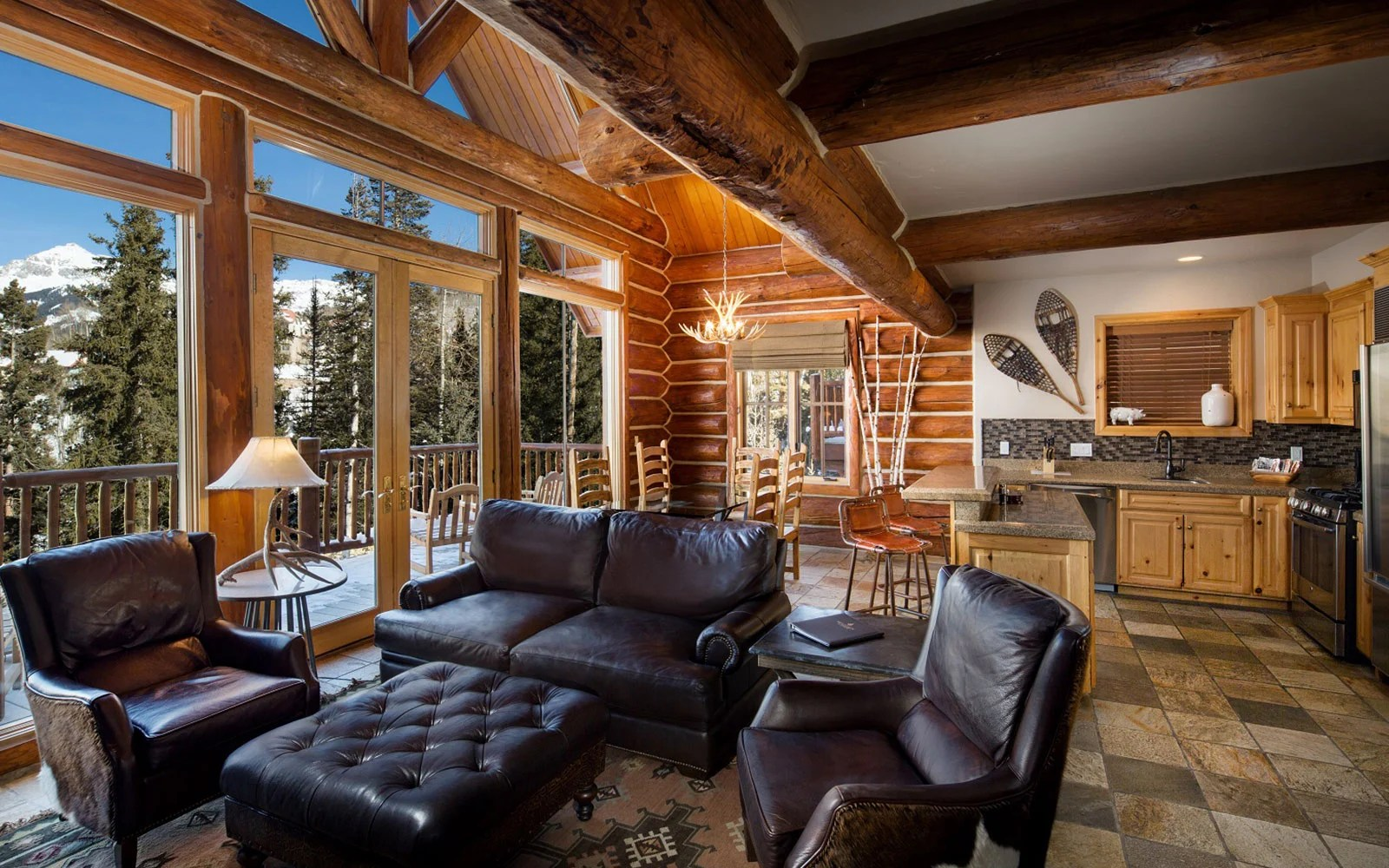 Luxury Log Cabins In Telluride CO Mountain Lodge Telluride
