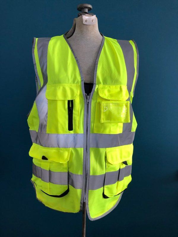 Safety Vest Back