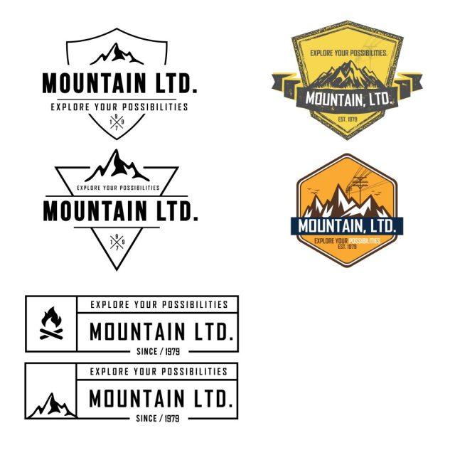 New custom MTN Logos