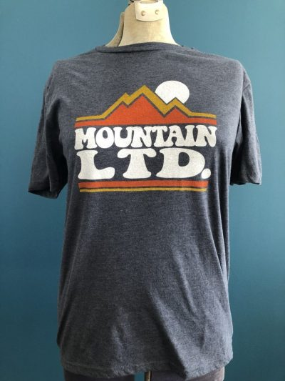 Gray Mountain Man Shirt