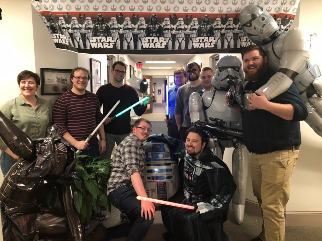Star Wars Day at MOUNTAIN HQ