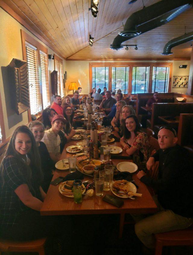 Employee Appreciation Dinner in Utah Group