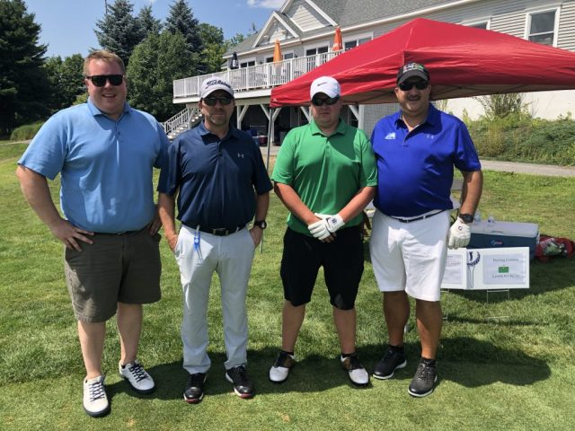 Golf Group 3 at the ITPA Tournament