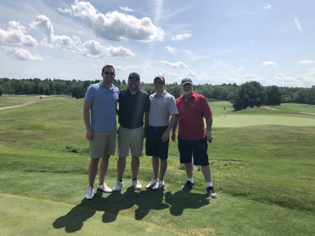 Golf Group 4 at the ITPA Tournament