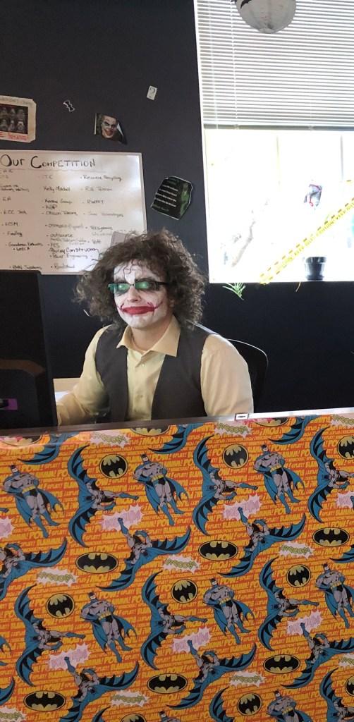 Jack as The Joker