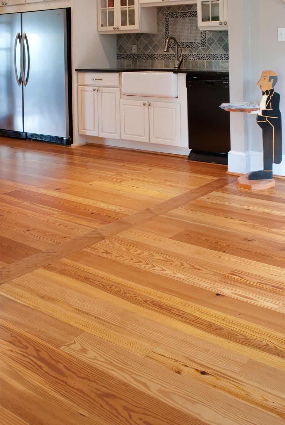 Reclaimed Heart Pine Flooring Mountain Lumber Company