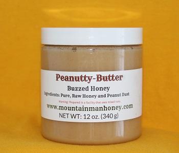 Peanutty Butter Buzzed Honey