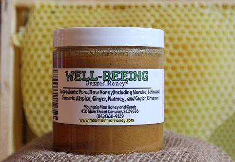 Well Beeing Buzzed Honey