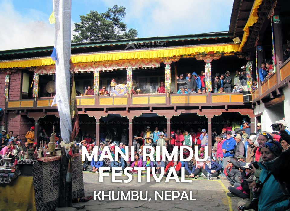 Mani Rimdu festival in Everest region