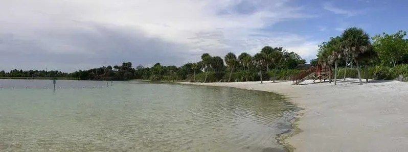 beach at Larry and Penny Campground FL