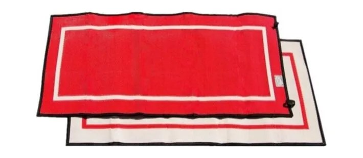 Mountain Mat Solo size 3x6 in hot melon color