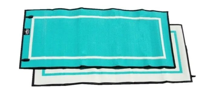 mountain mat solo size 3x6 in caribbean teal