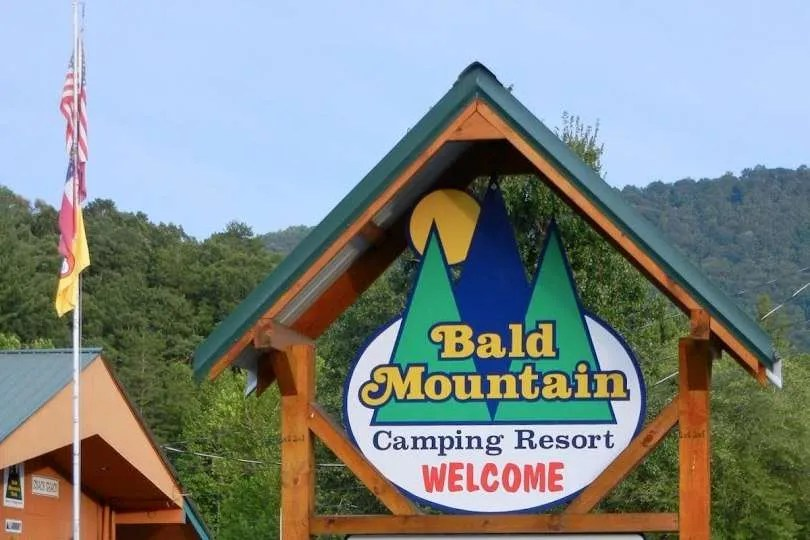 bald mountain sign