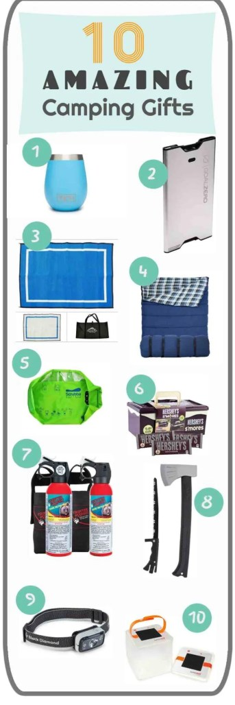 10 gifts to give people who love to camp outside