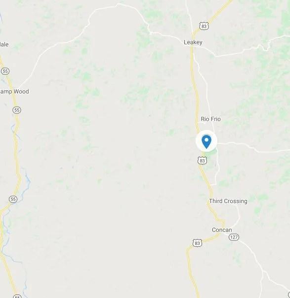 map of garner state park