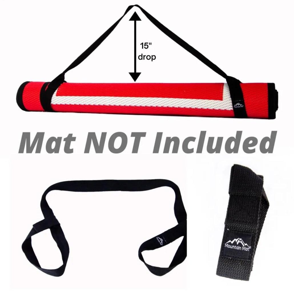 Mountain Mat Carry Strap/Stretching Belt