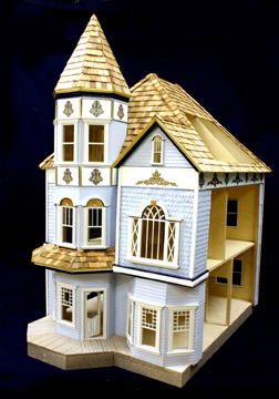 Majestic Mansions Victorian Dunwoody Dollhouse Kit 112 Scale