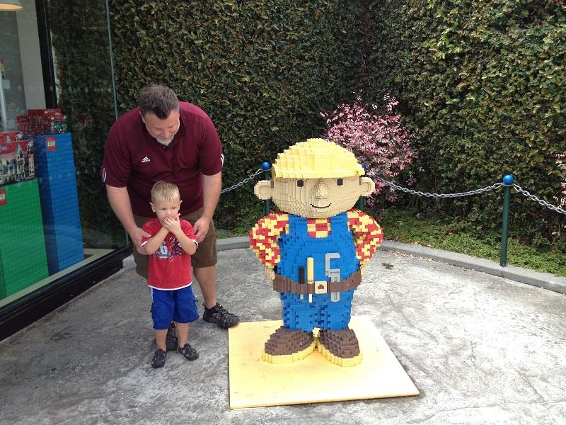 Big E at Legoland