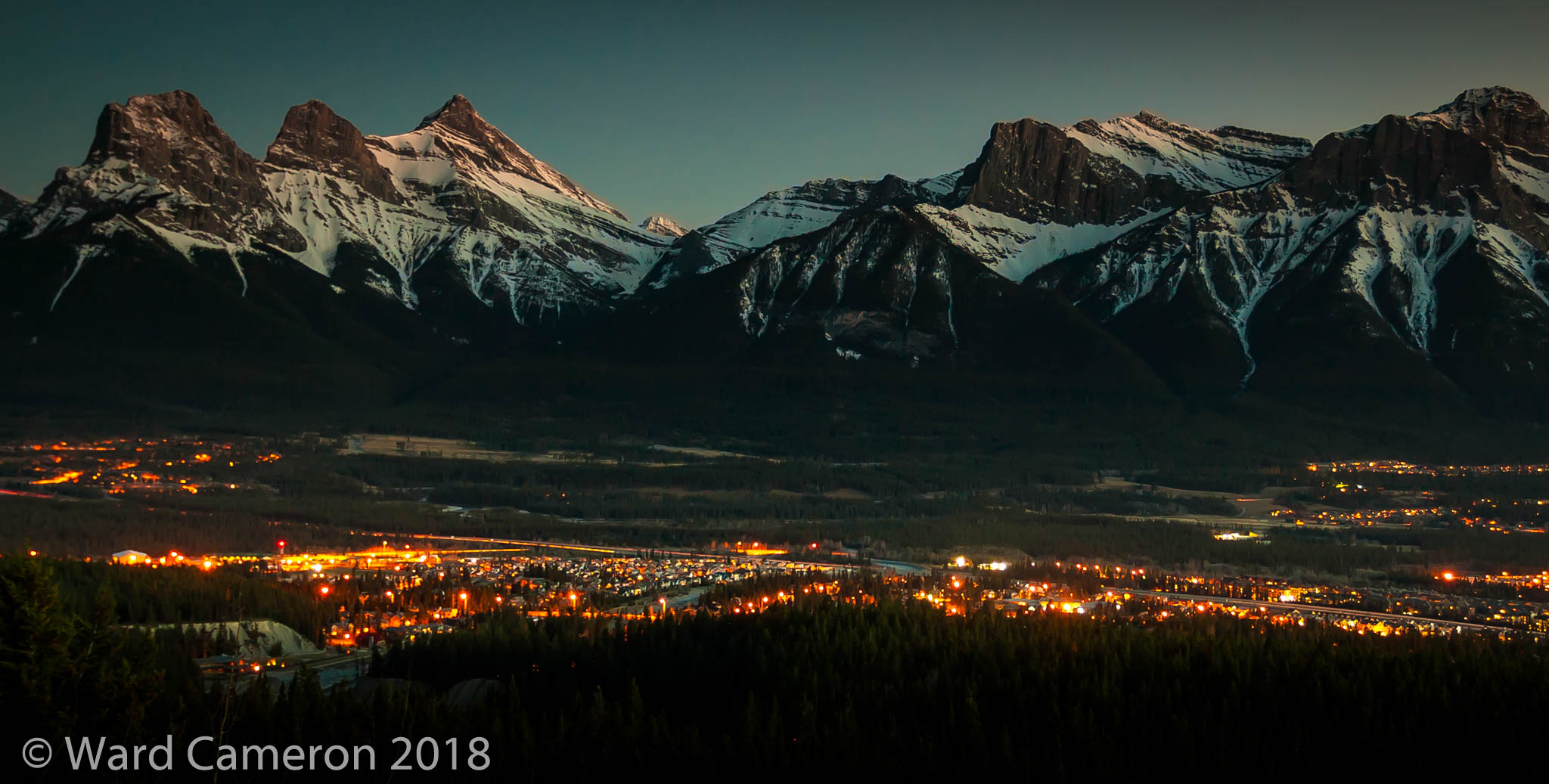 photo of the Bow Valley where people hoping to preserve viable wildlife corridors have recently won a big battle. The war continues.