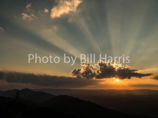 High Knob Sunset