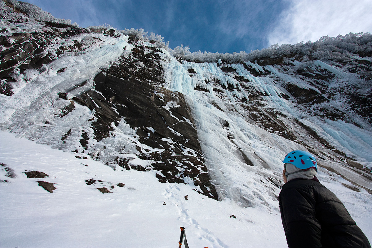 Ice Climbing at Lake Willoughby
