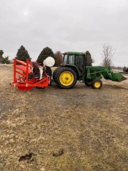 Hemp tractor