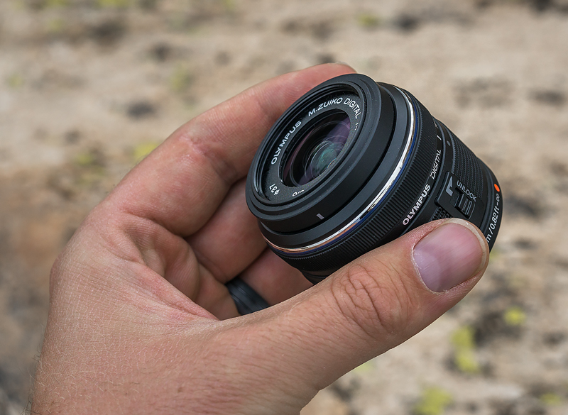 small micro four thirds lens