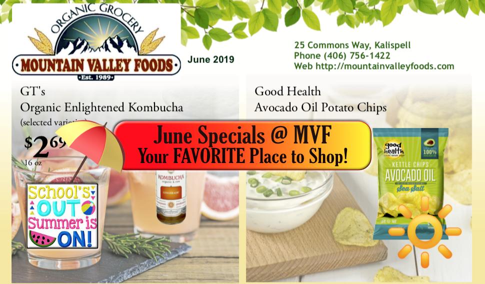 MVF June Special Savings!